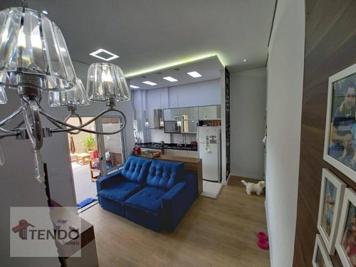 Apartamento 64 M² - Venda - 2 Dormitórios - 2 Suítes - Vila Curuçá - Santo André/sp - Ap2274
