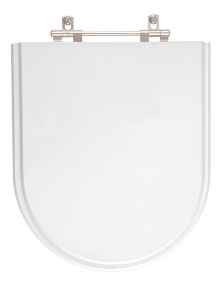 Tampa De Vaso Carrara Branco Para Bacia Deca