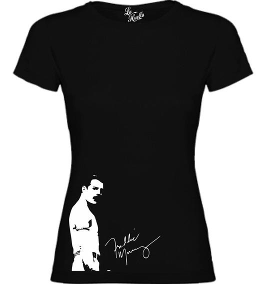 Polera De Mujer Queen - Freddie Mercury / Lho