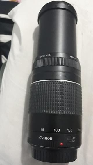 Lente Canon 75-300mm