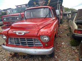 Camionetachevrolet Apachede Estacas 1955 Barata Original