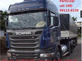 Scania R 480 6x4 (cavalo Trucado) 2014 + Bitrem Graneleiro