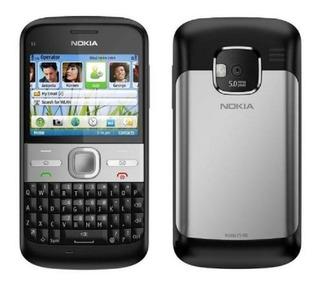 Celula Nokia E5 3g Wifi Fm Desbl C/cartão Memoria2gb Usado
