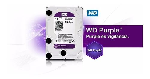 Disco Duro Wd Purpura 1 Tera - Wd10purx-entrega Inmediata