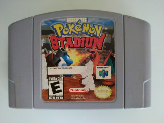 Pokemon Stadium Original Americana Nintendo 64