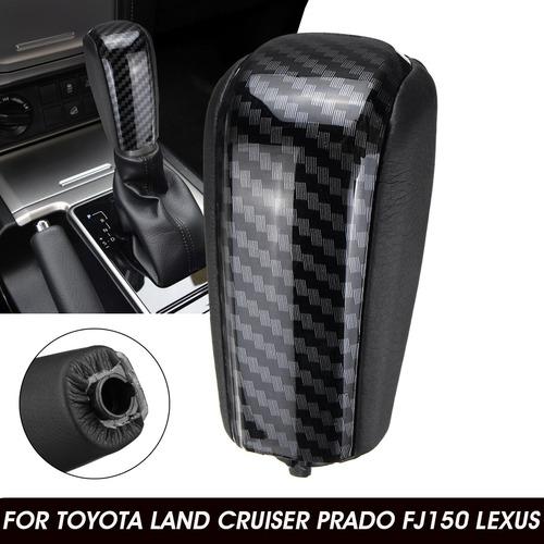 Pomo De Cambio De Cuero Pu Para Toyota Land Cruiser Prado Fj