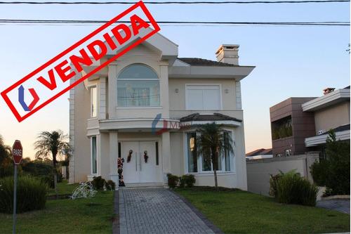 Casa Com 4 Dormitórios Vendida, 579 M² Por R$ 2.300.000 - Alphaville Graciosa - Pinhais/pr - Ca0025