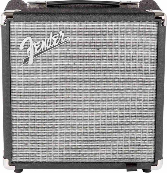Amplificador De Bajo Fender Rumble 15 V3 15 Watts - Cuotas
