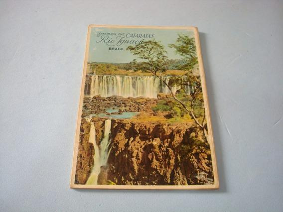 Cartão Postal Antigo - Album - Paraná - Foz Iguaçú