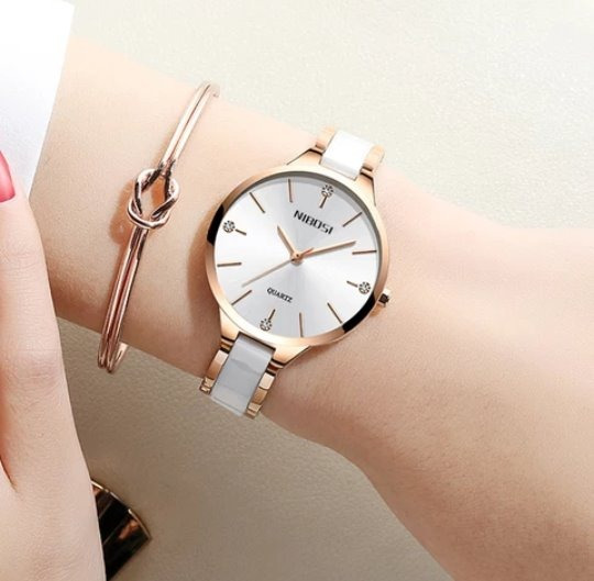 Relógio Feminino Nibosi Quartzo Provad