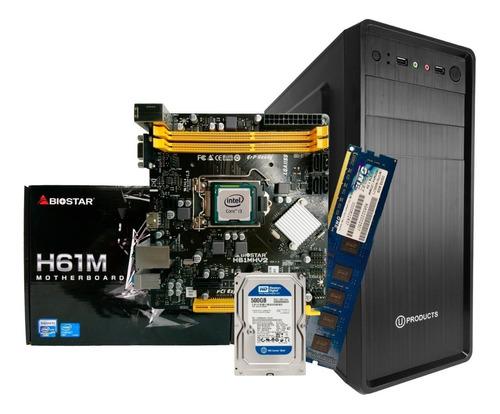 Imagen 1 de 4 de Computadora Core I3 8gb Ram Hdd 500gb Nuevo Somos Tienda