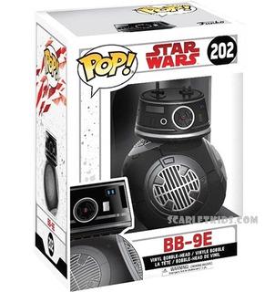 Funko Pop! Star Wars Bb9e 202 Original Funko Scarlet Kids