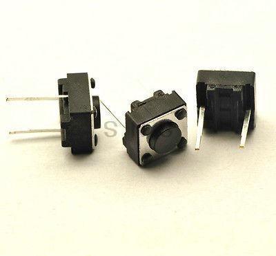 Botão Ou Interruptor Tátil - 6x6x4.3mm