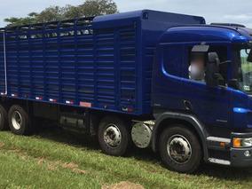 Scania P310 Na Boiadeira Bitruck Com Serviço