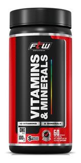 Vitamins & Minerals Ftw - Fitoway - 60 Cápsulas