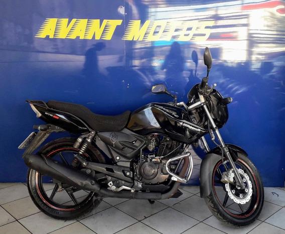 Apache Rtr 150 Preta 2011