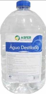 Agua Destilada Radiador E Bateria Carros 10 Litros