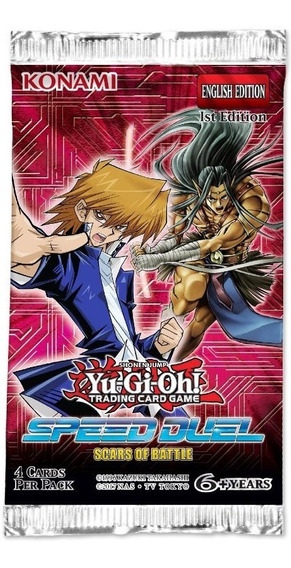 Yu Gi Oh Speed Duel Scars Of Battle Booster Pack