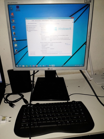 Computador Completo Hp Tela Lg