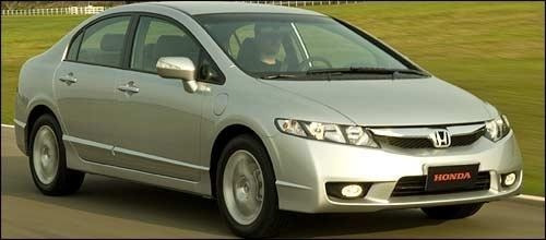 (21) Sucata Honda New Civic 1.7 2009 (retirada Peças)