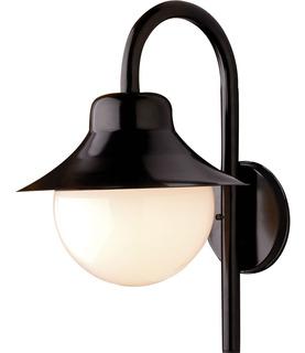 Arandela Luminária Colonial Saturno Condomínio Vidro Leitoso