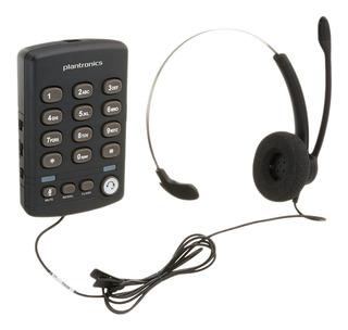 Telefono Alambrico Plantronics T110 Con Diadema Monoaural