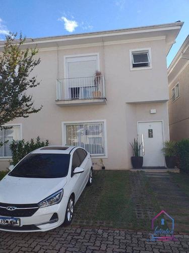 Imagem 1 de 23 de Casa Com 3 Dormitórios À Venda, 130 M² Por R$ 745.000 - Chácara Canta Galo - Cotia/sp - Ca1250