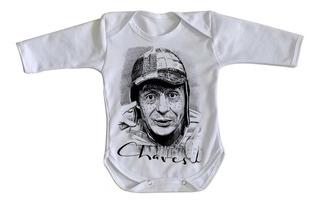 Body Criança Roupa Bebê Chaves Chespirito Chapolin Madruga