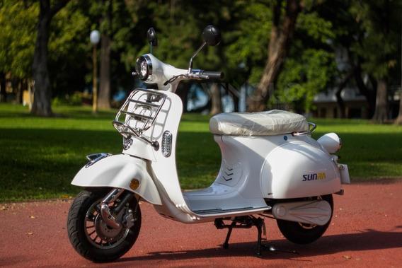 Moto Electrica Sunra Vintage Litio Cuotas Gob 16% Viñolo /a