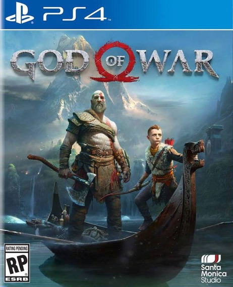 God Of War 4 - Ps4 - Mídia Física