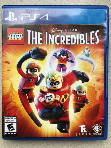 Lego The Incredibles Ps4 - Fisico