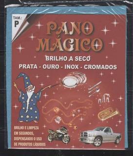 Flanela Pano Magico P Limpa Ouro Prata Metal - 05 Flanelas