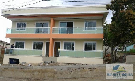Apartamento Para Venda Em Araruama, Iguabinha, 1 Dormitório, 1 Banheiro, 1 Vaga - 201_2-438309
