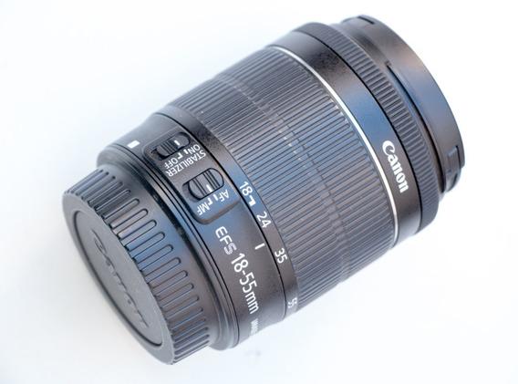 Lente Canon 18-55mm Stm