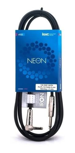 Cable Kwc Neon 130 - 3 Metros Plug/plug - Ficha L - Full