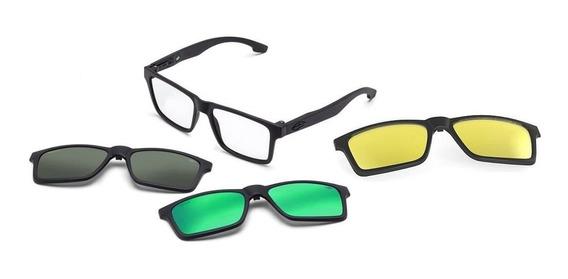 Oculos Grau Mormaii Swap M6057ace56 Preto Clip On Polarizado