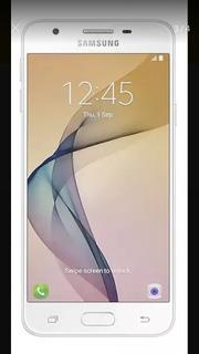 Celular Samsung J5 Prime - Dourado (frente Branco)