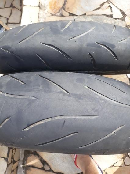 Par Pneus Bridgestone Battlax 120 + 180