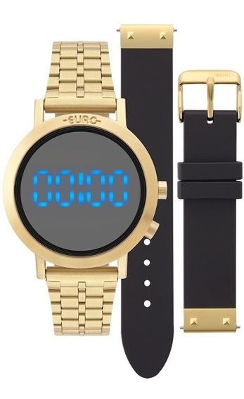 Relógio Euro Eubj3407aa/t4p Troca Pulseira Dourado Sabrina
