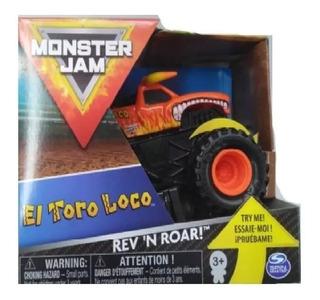 Monster Jam Vehiculo 1:43 Surt C/sonido Original
