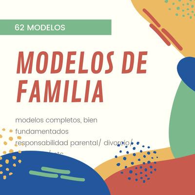 Modelos Judiciales Familia