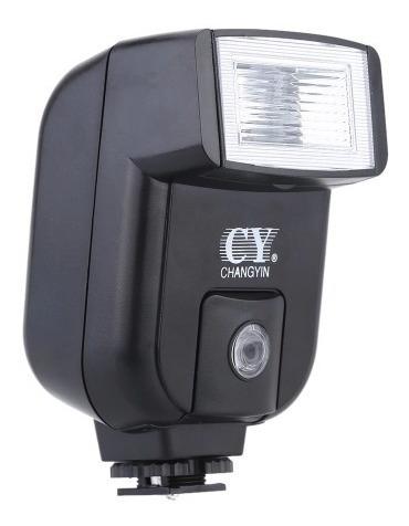 Flash Simples Universal Cy20 Câmera Canon Nikon