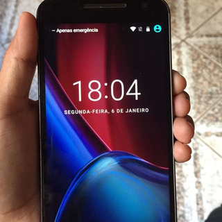 Celular Moto G4 Plus Lindo