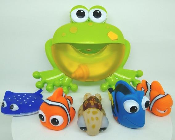 Kit Bolha Banho Sapo Com Nemo Disney+ Amigos Frete Grátis