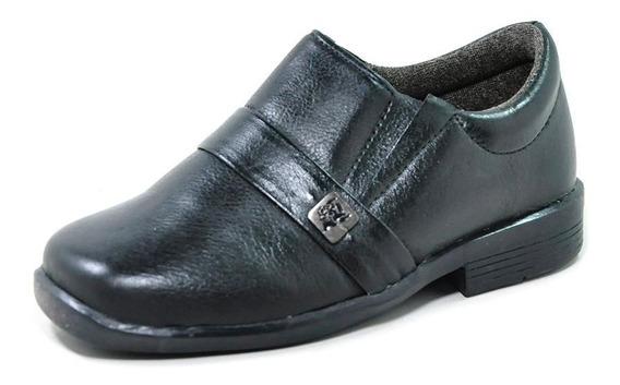 Sapato Social Infantil Masculino Preto 2681 Laroche