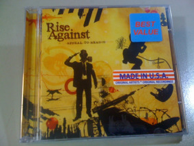 Rise Against Appeal To Reason Cd Lacrado (raro!) Usa: Import