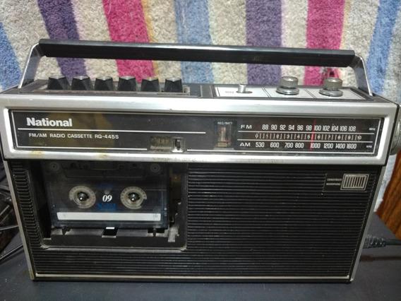 Radio Gravador National Rq445 S