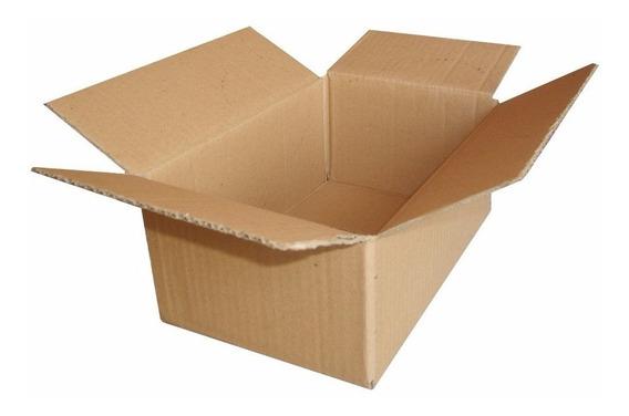 Caixa Papelão Embalagem Correio Sedex 16 X 11 X 6 Cm - 25 Cx