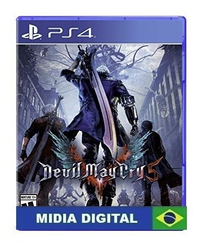 Devil May Cry 5 Ps4 2 Promoção Português Br