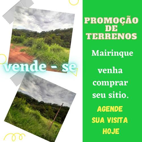 Mairinque Com Mega Promoção De Terrenos!